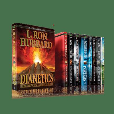 Lot 10 livres débutant scientologie et de dianétique
