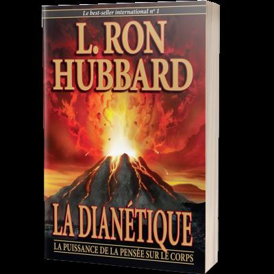 """Livre """"La Dianétique : la puissance de la pensée sur le corps"""" écrit par L. Ron Hubbard"""