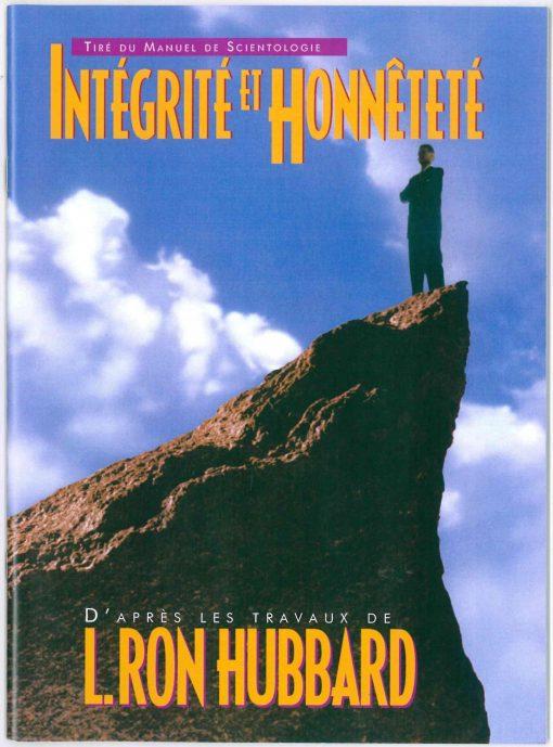 Livret sur l'Intégrité et Honnêteté, tiré du manuel de Scientologie et des travaux de L. Ron Hubbard de 39 pages.