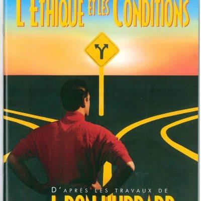 Livret sur L'éthique et les condition tiré des travaux de L. Ron Hubbard de 55 pages